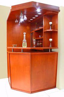 Modelos de bares esquineros modernos buscar con google for Muebles esquineros de madera