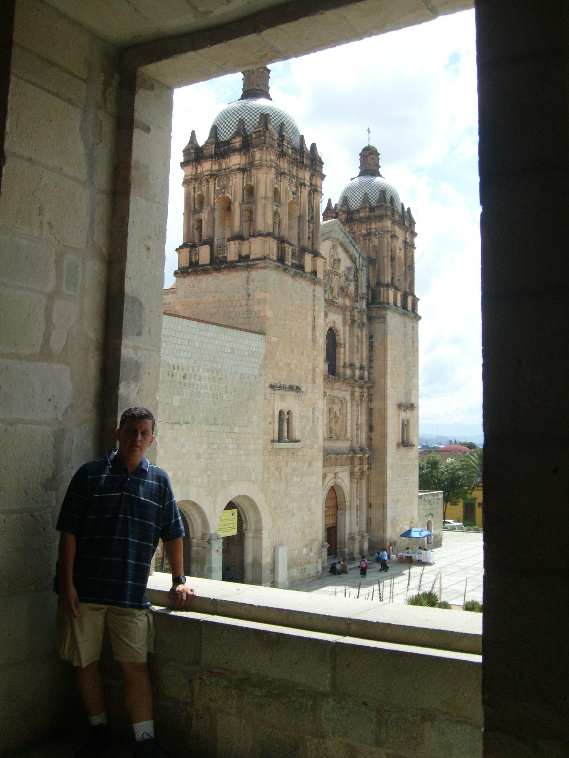 La Iglesia Y Convento De Santo Domingo En La Ciudad De Oaxaca Mexico