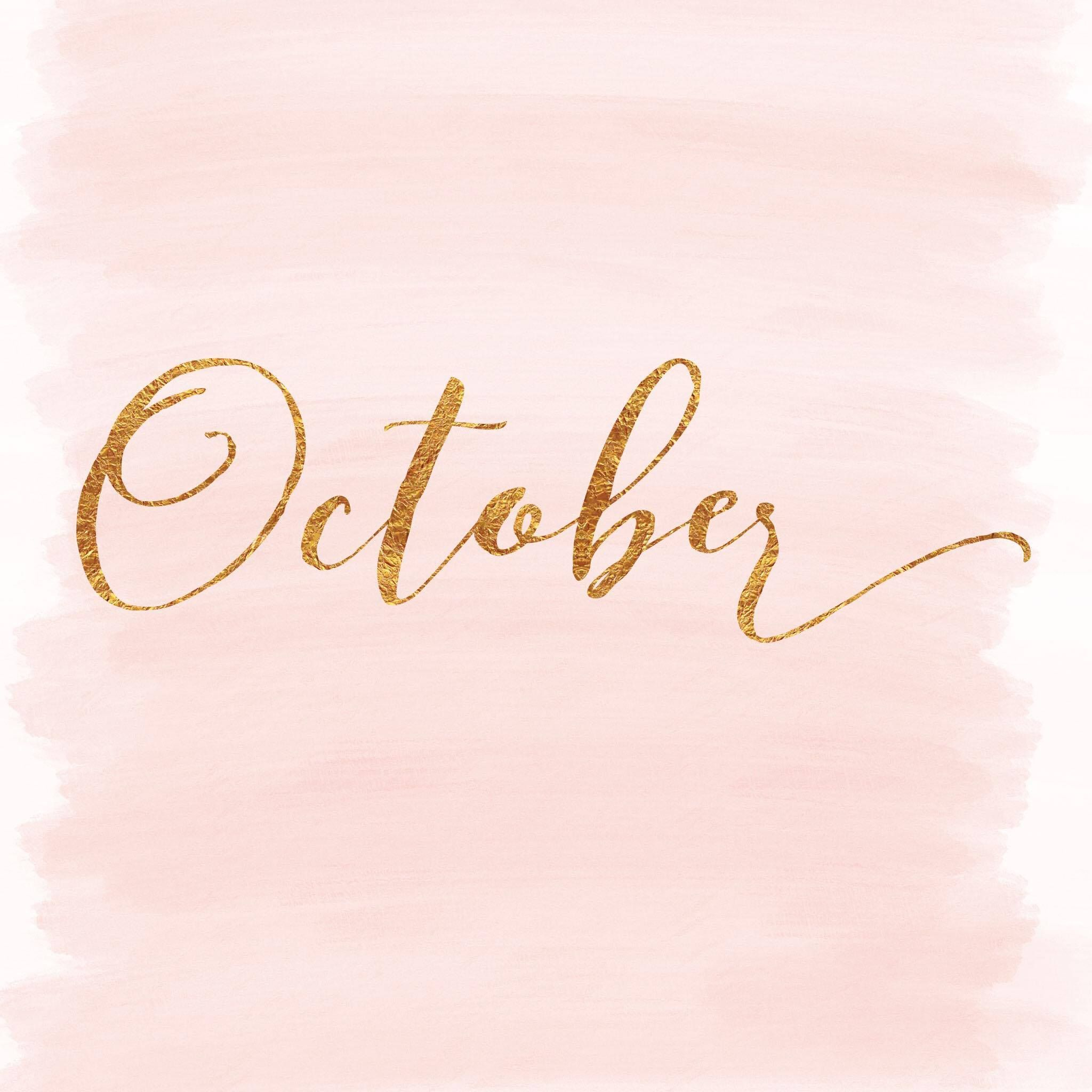 Hello October, Bye Bye September - Labsalliebe