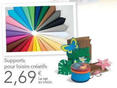 Supports pour loisirs créatifs  LIDL