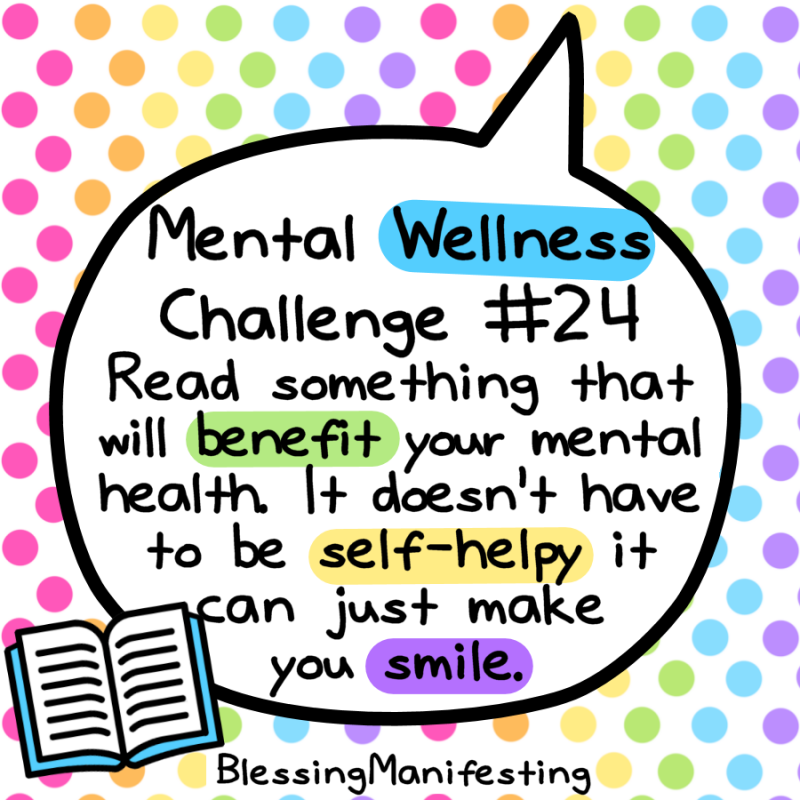 31 Day Mental Wellness Challenge - Blessing Manifesting in ...