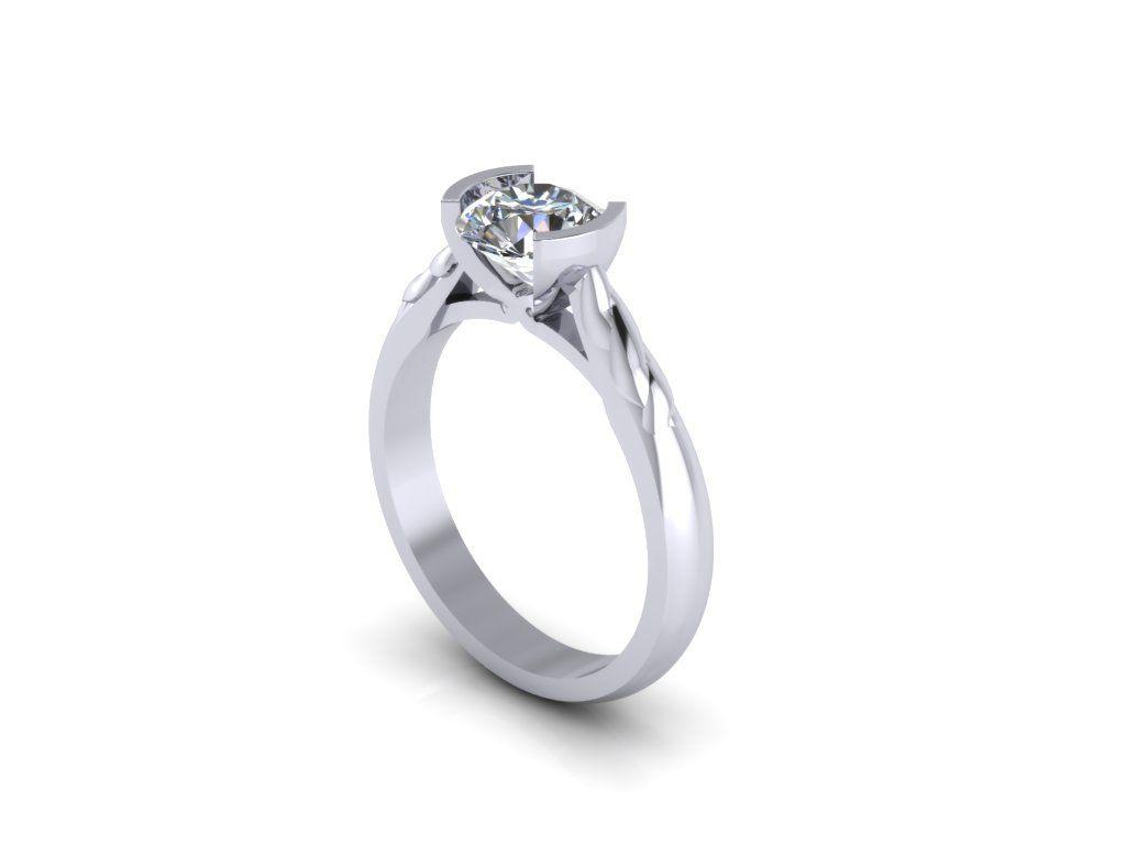 Custom Solitaire Diamond Engagement Ring, #diamonds #platinum #solitaire #hattongarden #bespoke #custom #diamondpalace #GIA #IGI #Certificated #18k   Submit your design for a free quotation sales@diamondpalacejewellers.com  www.diamondpalace.co.uk