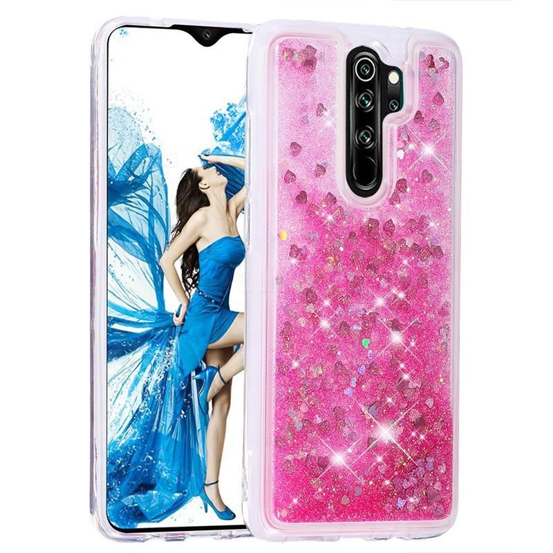 7 Off Dynamic Liquid Glitter Quicksand Sequins Tpu Phone Case For Mi Xiaomi Redmi Note 8 Pro Rose Xiaomi Redmi Note 8 Pro Cases Guuds Case Phone Cases Xiaomi