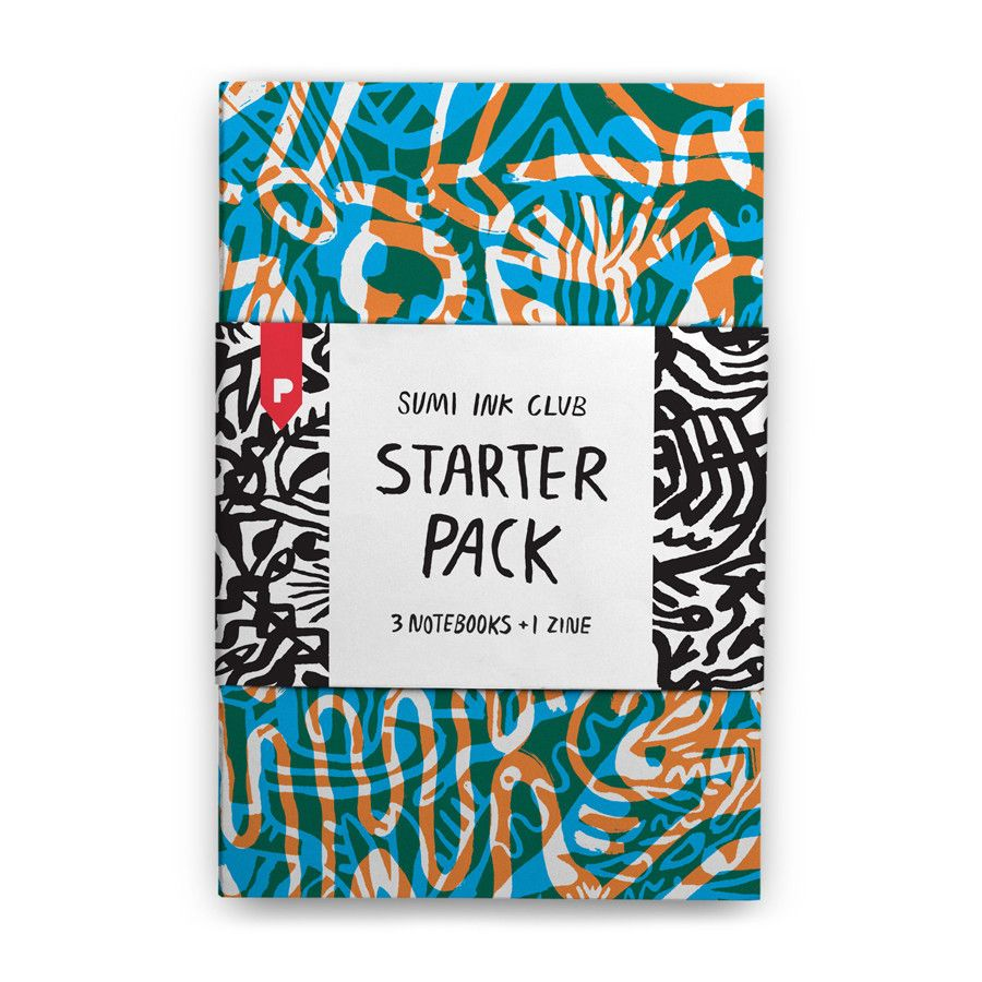 Starter Pack Notebooks by Sumi Ink Club for Plumb