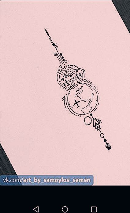 Photo of 36+ Trendy Travel Drawing Compass Tattoo Designs