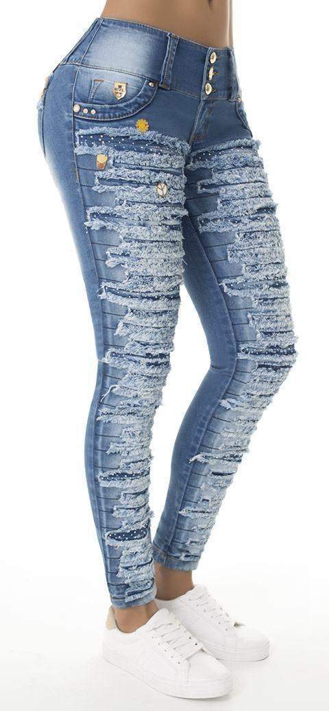 Jeans levanta cola REVEL 56007 - Jeans Colombianos