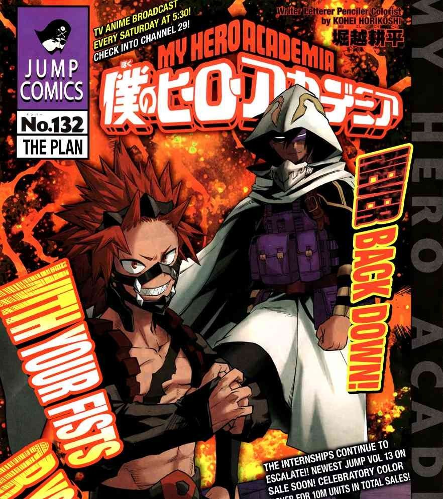 Boku No Hero Academia Chapter 132 The Plan Manga Mangafreak Bokunoheroacademia Myheroacademia Updated Chapter At Manga Boku No Hero Academia Hero My Hero