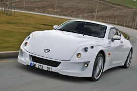 A CAR BLOG: Etox Zafer: Second New diesel-powered sports car from Turkey