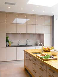 bespoke high gloss finish wall cabinets - Kitchen Wall Units Designs