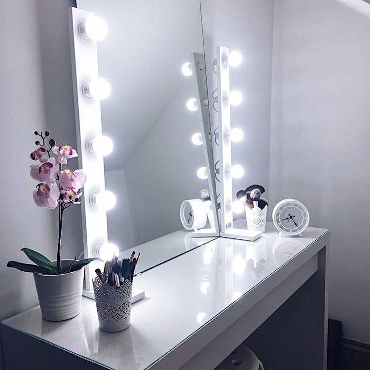 30++ Spiegel mit beleuchtung schminktisch ideen