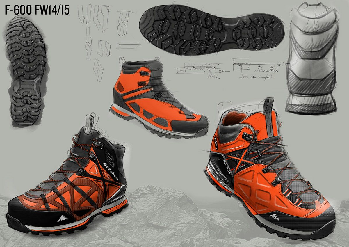 Hiking Footwear Fw14 15 On Behance Best Hiking Shoes Hiking Shoes Shoes