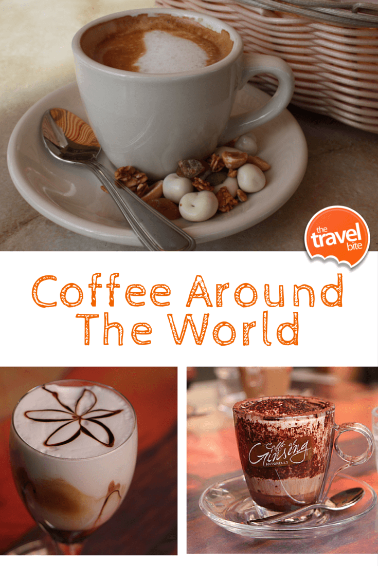 Coffees Of The World Coffee recipes, Coffee around the