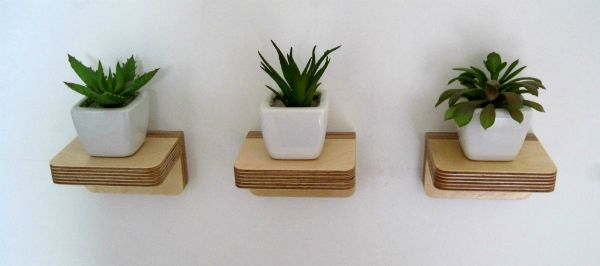 Billedresultat for shelf with plants