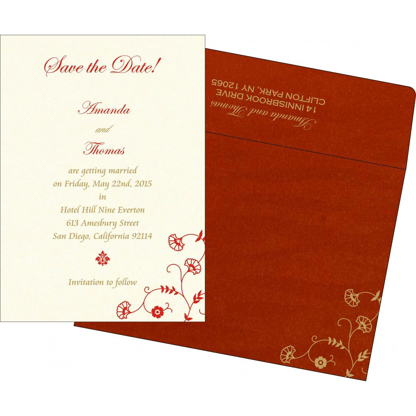 Give your wedding a special feel with our exclusive Red, Shimmer ...