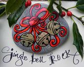~Jingle Bell ROCK / Painted Rock / Sandi Pike Foundas~