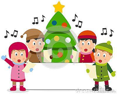 Christmas Kids and Banner