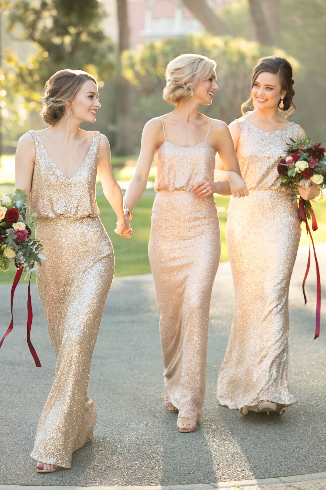 Trends We Love Relaxed Glam Bridesmaid Dresses   Pretty Happy ...