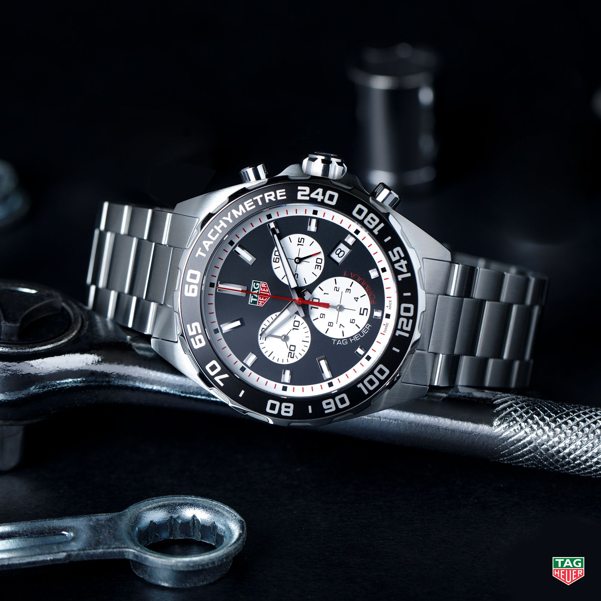 f5a678b9dd5 Turbocharge your life with the TAG Heuer Formula 1.   DontCrackUnderPresssure  TAGHeuerIsMotorRacing  TAGHeuerFormula1  Steel