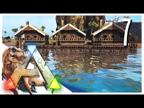 Ark Survival Evolved Small Houses S2e07 Ark Gameplay Youtube Ark Survival Evolved Ark Survival Evolved Bases Game Ark Survival Evolved
