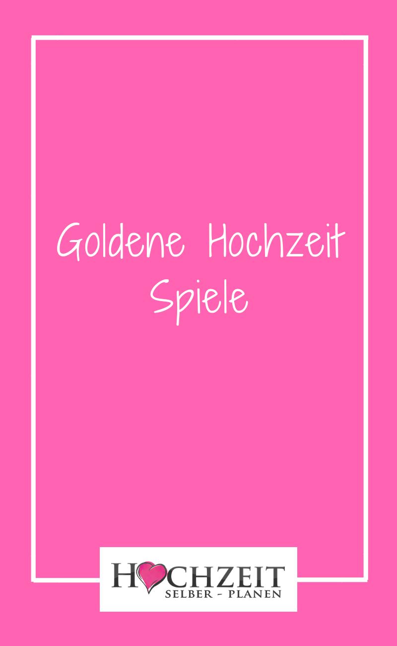 Goldene Hochzeit Spiele Unterhaltung