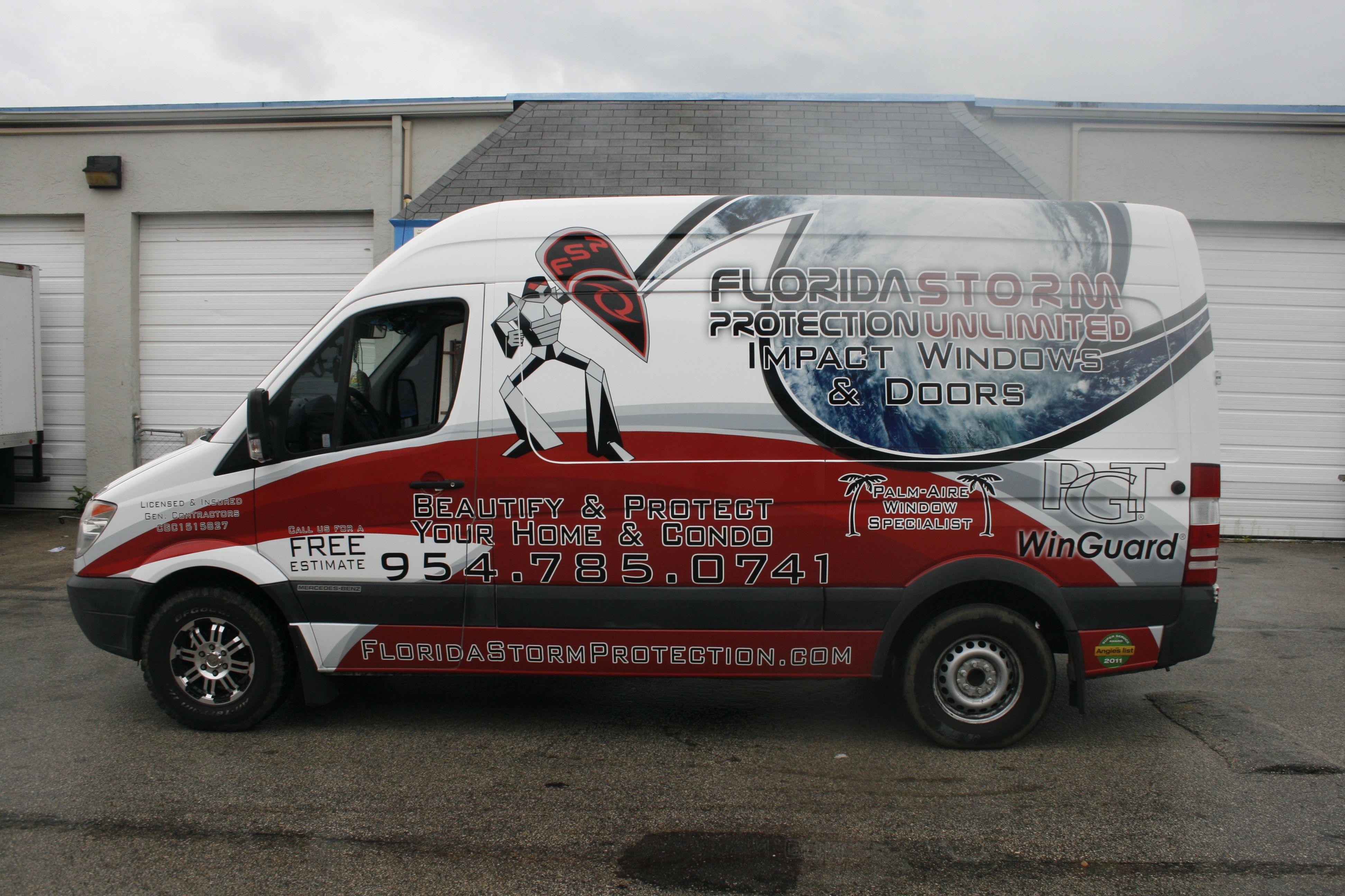 West Custom Windows Van