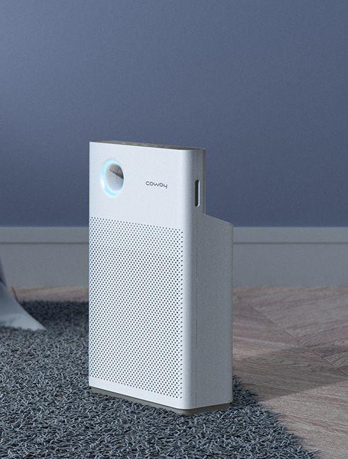 Air Shot Coway Air Purifier Design Id Design Industrial Design