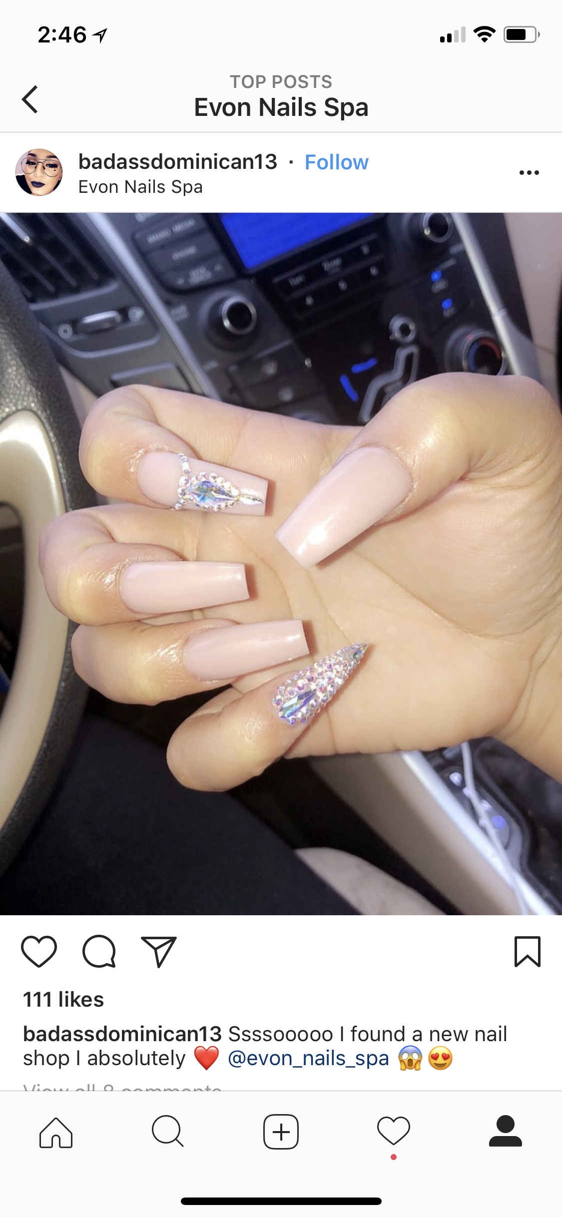 Evon Nails & Spa - 13155 Westheimer Rd, Houston. Tx 77077 -open ...