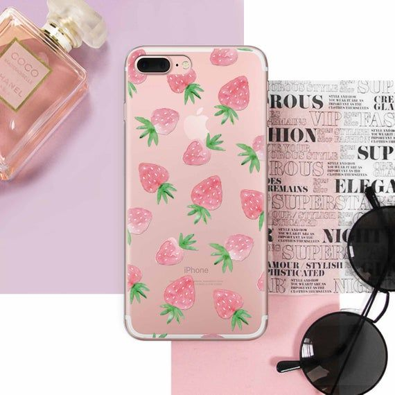 Strawberry Print iPhone 11 Case Fruity iPhone 11 Pro Case | Etsy