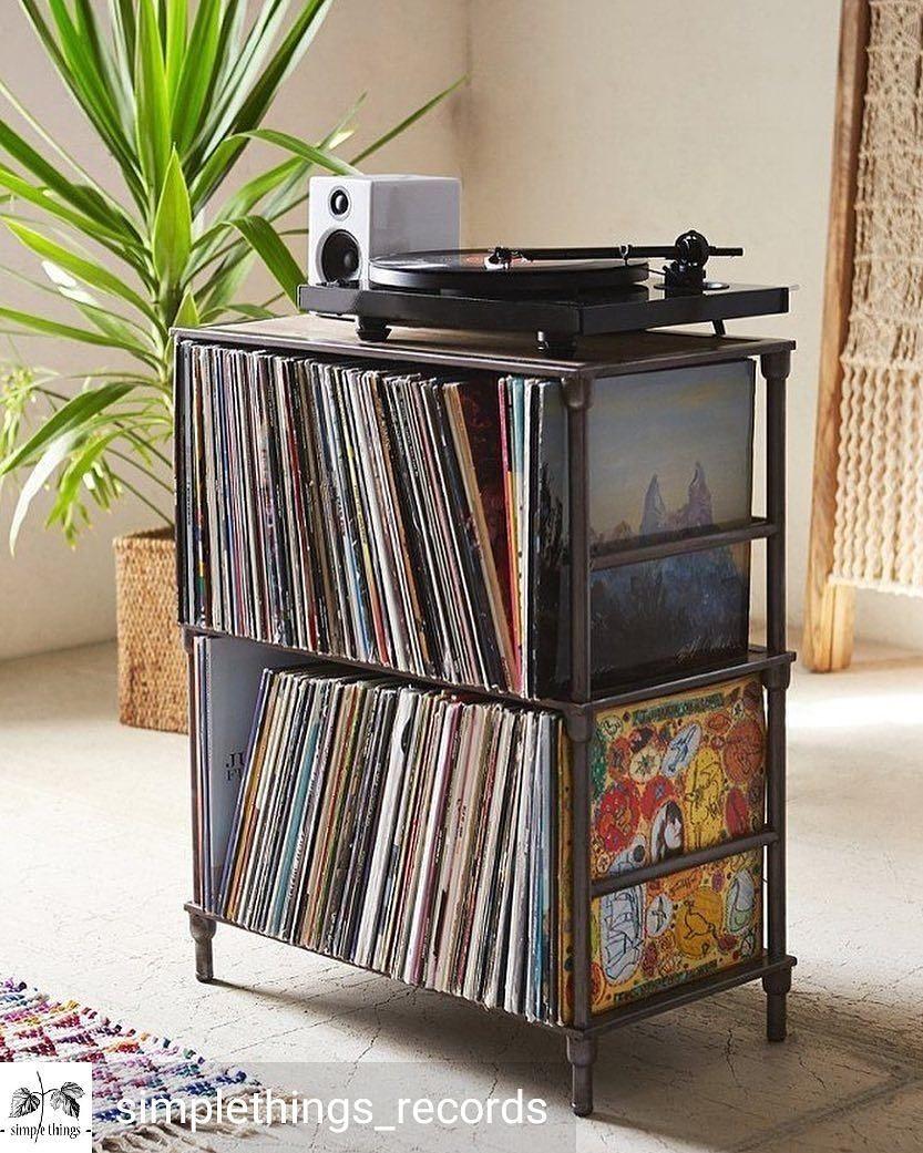 Essential Room Accessories Records Lp 12inch Vinyl Livingroom Familyroom Den Mancave Interi Vinyl Storage Vinyl Record Storage Shelf Living Room Diy