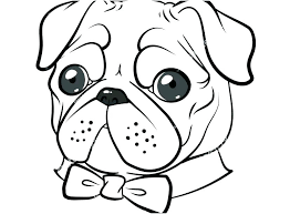 Pugs Coloring Pages Pug Cute Pug Colouring Pages Bixouinfo With Pugs Coloring Pages Pug Coloring Pages Printa Pug Cartoon Cute Cartoon Animals Dog Illustration