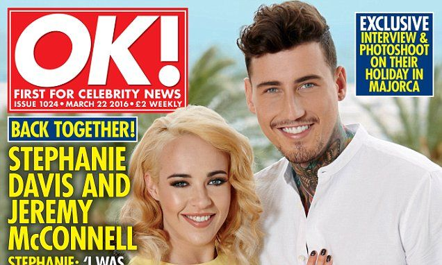 Jeremy McConnell and Stephanie Davis open up about turbulent romance