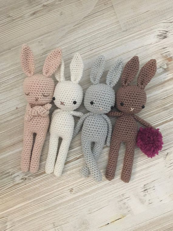 Easter Rabbit Knitted Bunny Toy Photography Props Stuffed Tiny Toy ... | 760x570