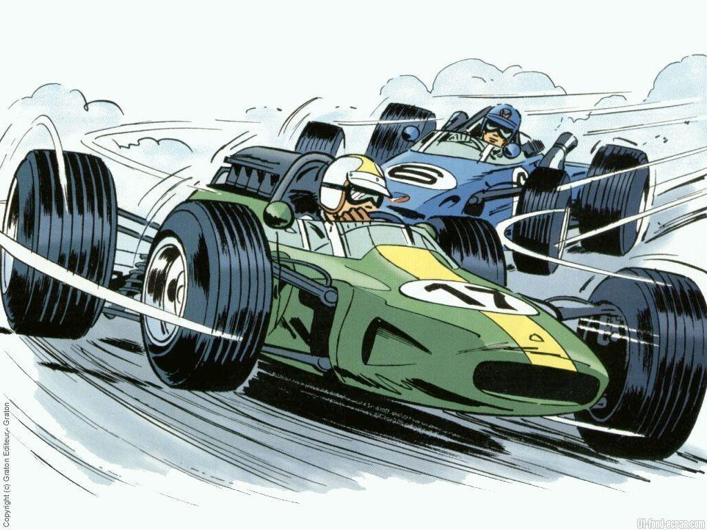 Michel vaillant michel vaillant car illustration automotive art et art - Coloriage cars toon ...