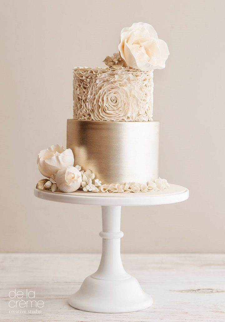 Beautiful Wedding Cake Designs from De La Creme Creative Studio