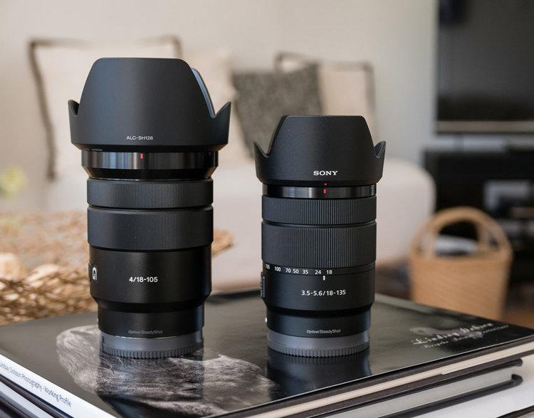 Sony 18 135 F3 5 F5 6 Oss E Mount Lens Review Vs Sony 18 105 F4 G West Sussex Portrait Photographer Sony Lenses E Mount Full Frame Camera