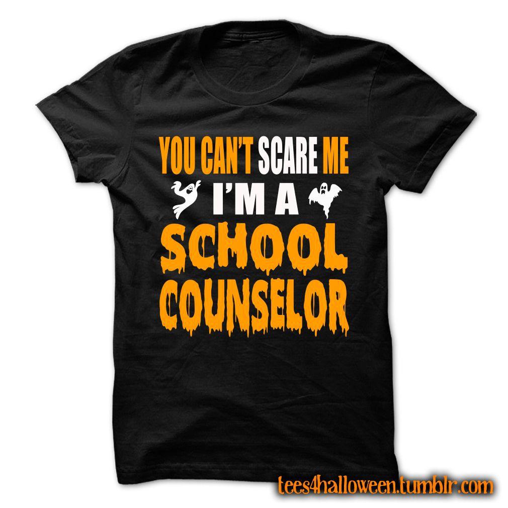 "tees4halloween "" HALLOWEEN TSHIRT FOR SCHOOL COUNSELOR"