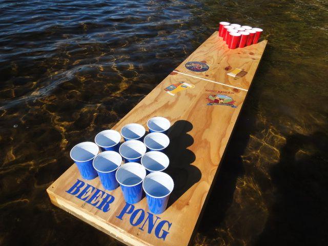 Awe Inspiring Diy Floating Beer Pong I Did That Floating Beer Download Free Architecture Designs Pushbritishbridgeorg