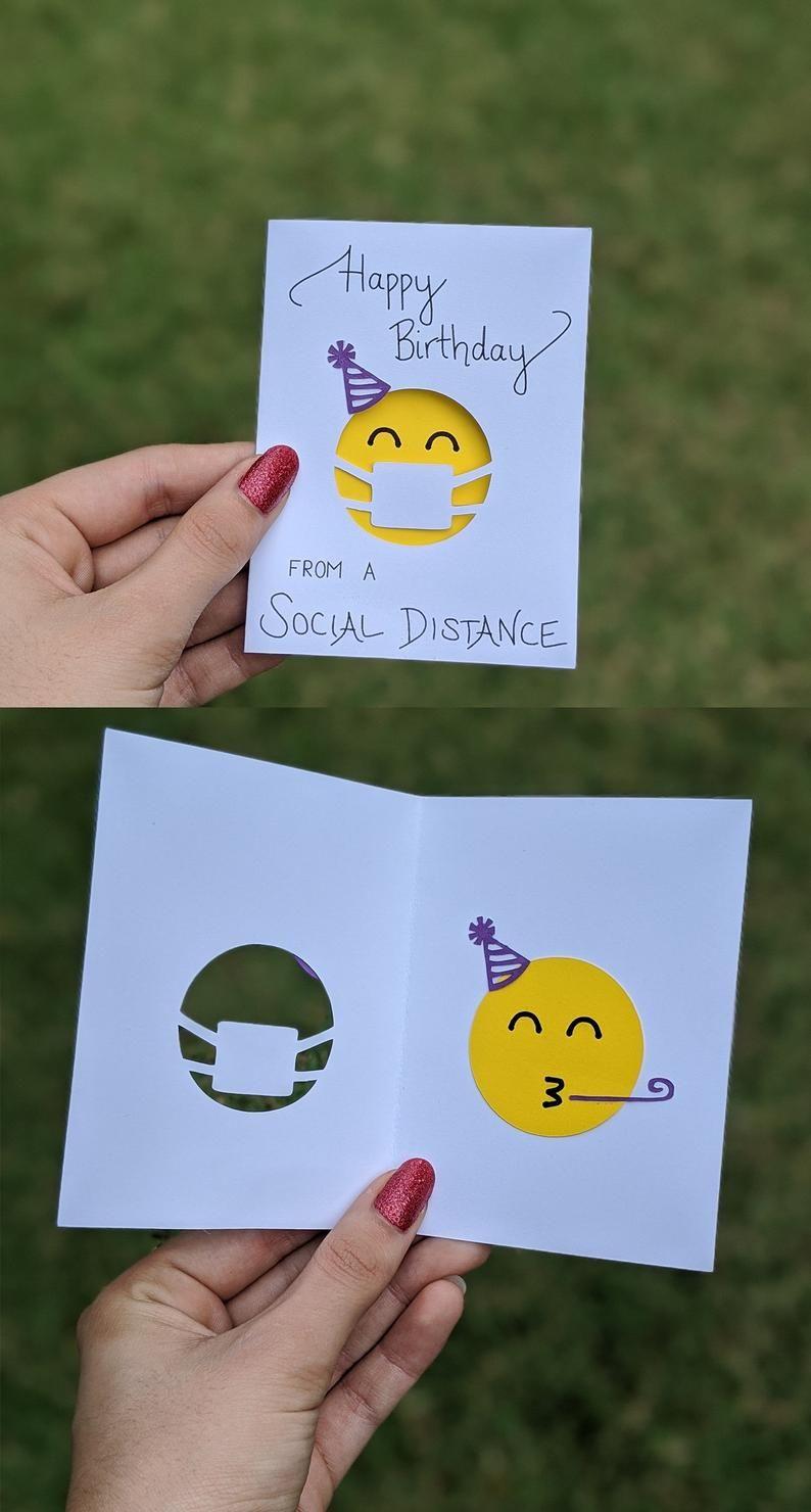 Alles Gute zum Geburtstag aus einer sozialen Entfernung MINI | Etsy