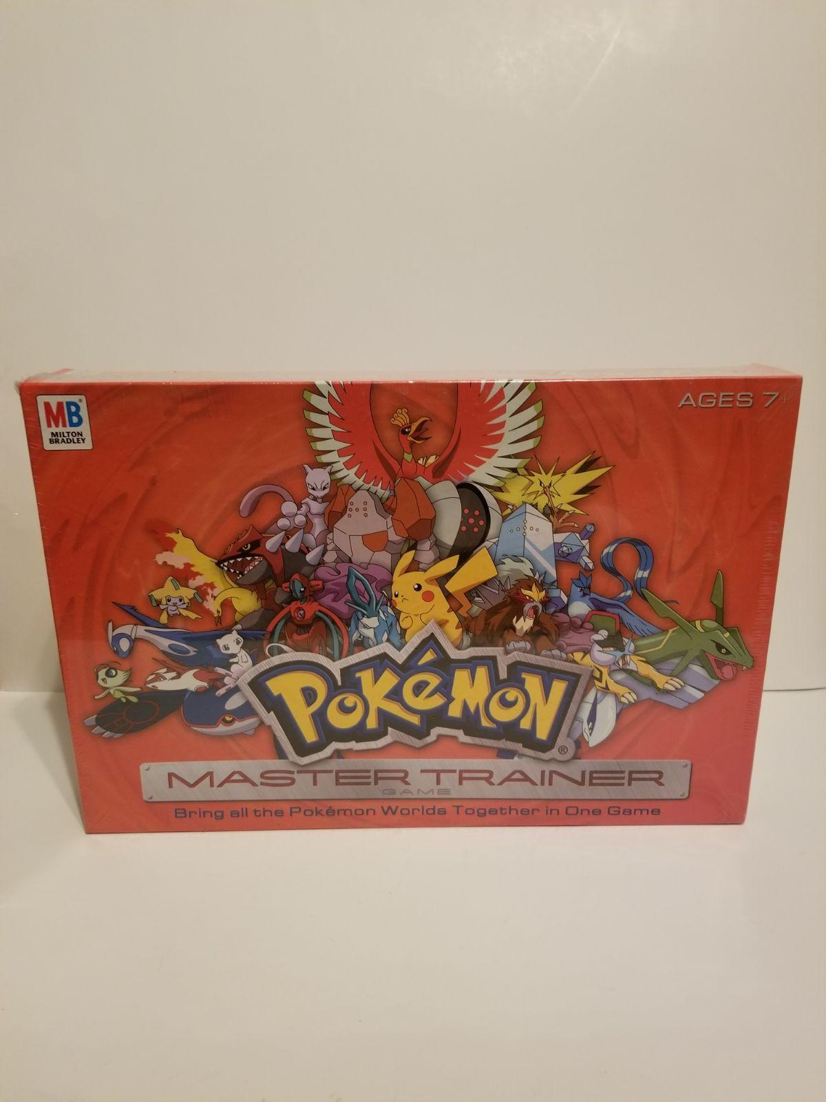 Pokemon Master Trainer Game Board Game