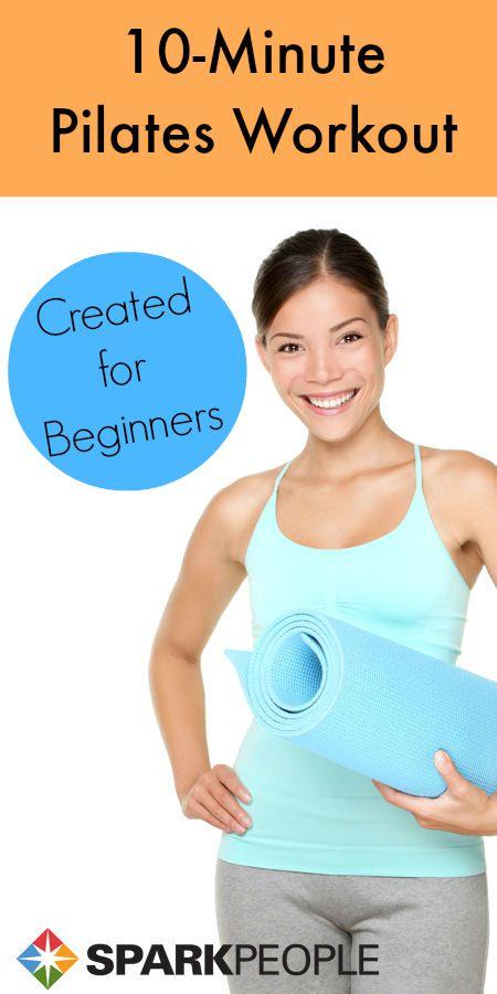 10-Minute Beginner's Pilates Workout Video