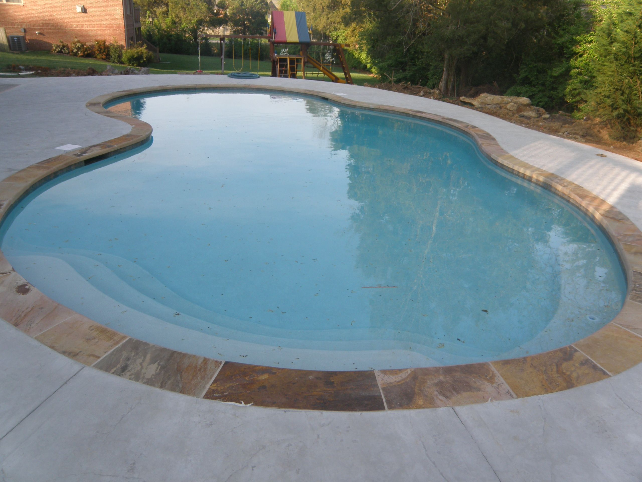pool and hot tub coping gallery - the rock yard | pools