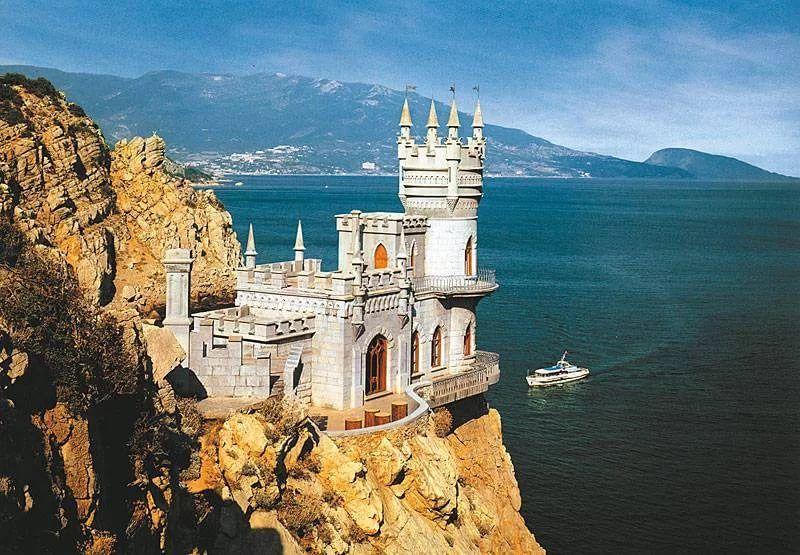 Ласточкино гнездо.  Крым. Россия