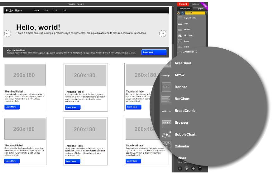 MockFlow WireframePro - Design user interface concepts for websites - fresh blueprint apple configurator