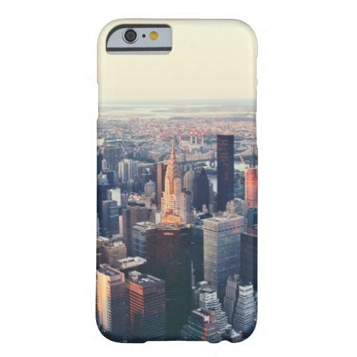 New York skyline sunrise Barely There iPhone 6 Case