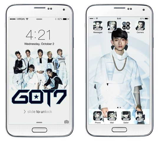 Exclusive] Download GOT7 Mobile Theme + Win Autographed