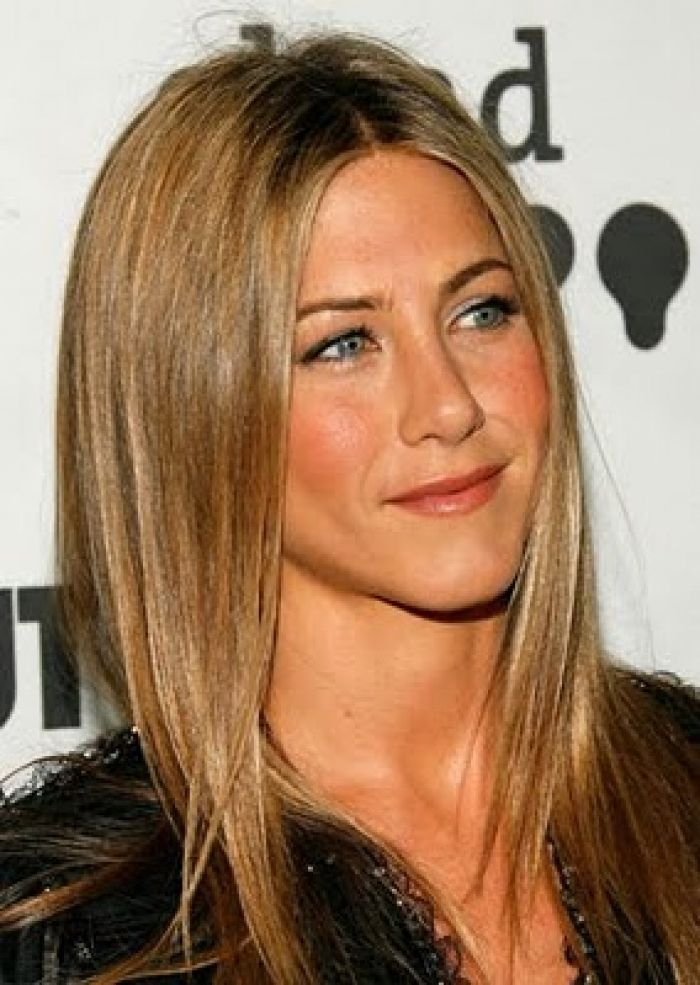 Jennifer Aniston Light Brown Hair Hairstyles Haircuts Pictures Design 284x400 Pixel