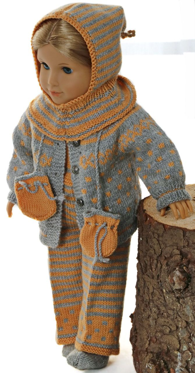 Lovely doll knitting pattern for American Girl - be inspired with ...