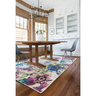 Nicole Bone/Ocean Blue Area Rug. Home OfficeRug InspirationWatercolor ...