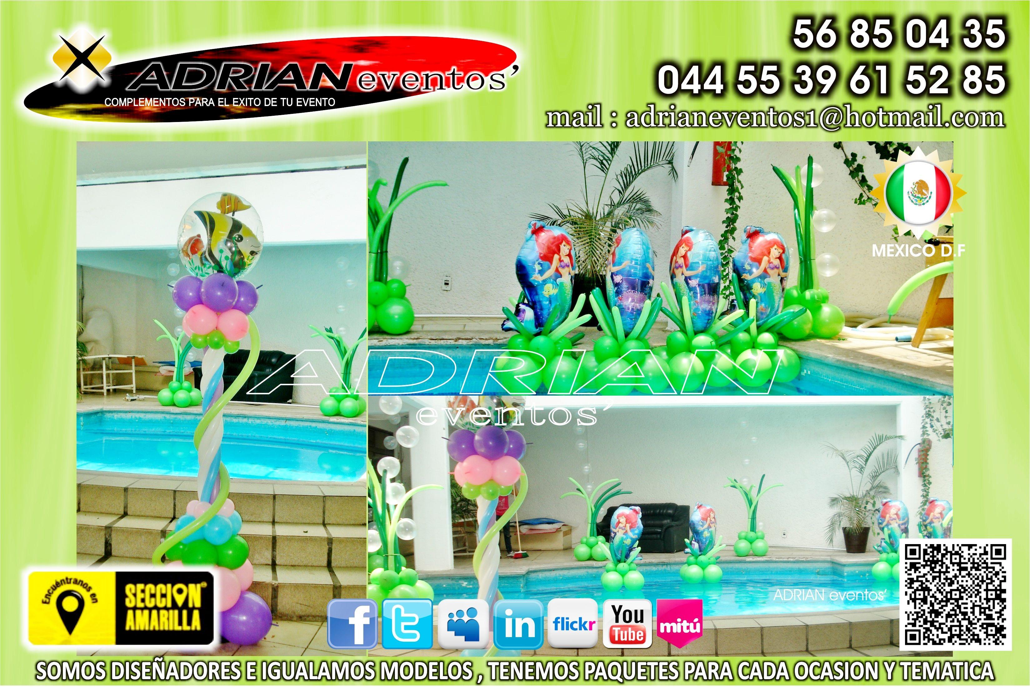 Decoracion con globos para fiestas infantiles decoracion - Decoracion fiestas tematicas ...