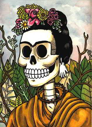Frida Kahlo by Jose Pulido